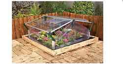 Cold Frame 4ftx3ft Double Mini Garden Greenhouse Palram Cold Frame Double Door