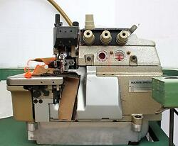 MAUSER SPEZIAL 9752 2-Needle 4-Thread Serger Top Feed Industrial Sewing Machine