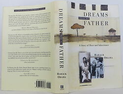 BARACK OBAMA Dreams from My Father: A Story of Race and Inheritance F