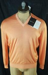 AUTH $1695 Kiton Men Cashmere Sweater M