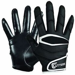 CUTTERS X40 C TACK REVOLUTION GLOVES FOOTBALL ADULT SMALL $29.99