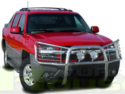 T&H 1 Piece Brush Grille Guard Push Bar for 2001-2006 Avalanche