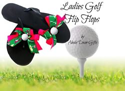 Golf Flip Flops Cart Ball women