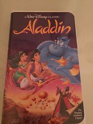 Aladdin (VHS 1993) - Walt Disney Black Diamond (ISBN1558906630)