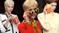 Moschino Couture X Jeremy Scott  Fast Food McDonald's Cardigan Wool Cashmere L