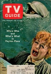 1965 TV Guide August 28; Lucy goes West; Peyton Place; Ben Casey; Jack Benny