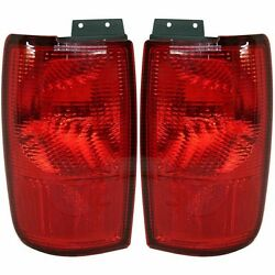 BEAVER MOTOR COACH MARQUIS 2002 2003 2004 2005 TAILLIGHTS TAIL LAMPS RV SET $70.00