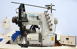 UNION SPECIAL FS322E12 MD 3-Needle 4-Thread Coverstich Industrial Sewing Machine