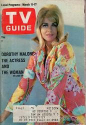 1967 TV Guide March 11-Dorothy Malone; Jane Fonda; Noel Harrison; Phyllis Diller