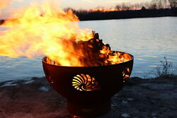 Fire Pit Art Beachcomber Fire Pit Electronic Ignition Natural Gas New