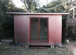 tiny house insulated shed man cave she shed yoga room visiting relatives Airbnb