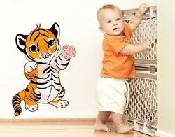 Tiger Baby Wall Decal Stickers $69.95