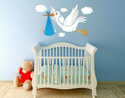 Delivery Stork Wall Decal Stickers $39.95