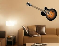 Guitare II Wall Decal Stickers $9.95