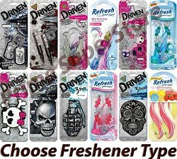 1 4 3D Paper Air Freshener Choose Scent Mirror Hanging Car Truck RV Home Office $10.44
