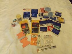 Lot of Sewing Supplies-Right from Grandma's Sewing Basket-Closures needlesetc