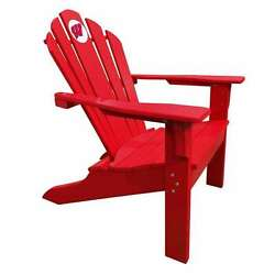 University of Wisconsin Badgers Red Big Daddy Adirondack Chair