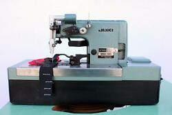 JUKI MBH-180 Bar Tacker Chainstitch Heavy Duty Industrial Sewing Machine wTable
