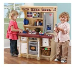 Childrens Electronic Outdoor Custom Cooking Kitchen Playset Step2 LifeStyle