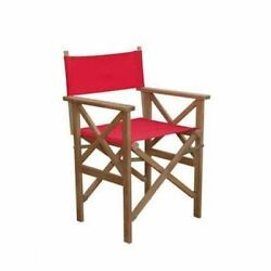 Director Folding Armchair w Canvas ( sold as a pair)