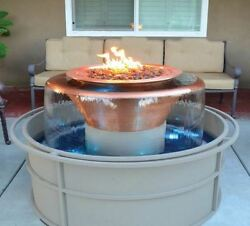 DIY Olympia Round Fire Pit