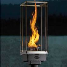Tempest Torch Decorative Outdoor Gas Lamp - Electronic Ignition - LP