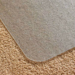 Floor Mats For Office Chairs Carpeted Floors Desk Heavy Duty Home  Clear Plastic