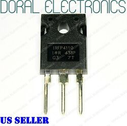 IRFP4110 Transistor N MOSFET 100V 120A 370W TO247AC HEXFET Power IC Brand New $3.00