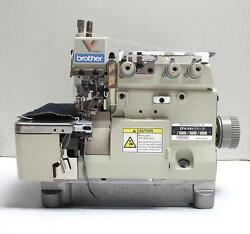 BROTHER EF4-V41 Overlock 3-Thread Back Latch Industrial Sewing Machine Head Only
