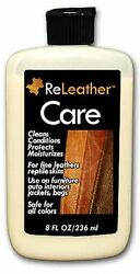 ReLeather Care Lotion - Leather Conditioning for Luxury Furniture Handbags etc