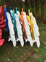 Adirondack Chairs 5 Folding Berlin Gardens Poly Resin Amish Made WOW!!!!