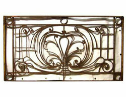 Antique Wrought Iron Balcony #A2004