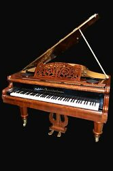 Exquisite  Bosendorfer 5'7 grand  piano &choice of Yamaha or  Steinway stool.