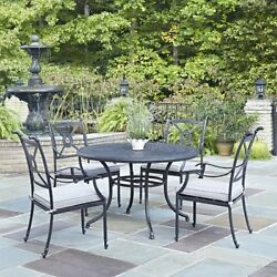 Outdoor 5 Piece Dining Set with 48