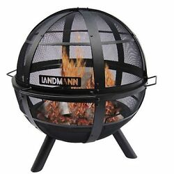 Backyard Outdoor Fire Pit Wood Fireplace Steel Portable Camping New Patio