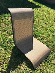 (6) Hampton Bay Belleville Sling Chair Back Replacement