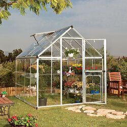 Greenhouses For Sale With Starter Kit 6' x 8' Gardening Portable Mini Backyard