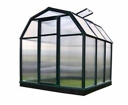 Eco-Grow Twin Wall 6 ft. x 6 ft. Greenhouse Home Planter Portable Greenhouse