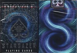 Stargazer Bicycle Playing Cards Poker Size Deck USPCC Custom Limited Edition New