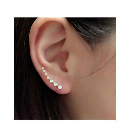 SEXY SPARKLES Ear Climbers Ear Crawlers Earrings Cuff Climber Pins $6.99