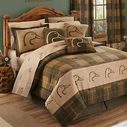 DUCKS UNLIMITED Bed in a Bag 11-Piece Deluxe Comforter Set for Lodge and Cabin
