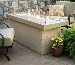 Key Largo Fire Pit with Brown Stone Supercast Top