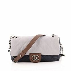Chanel Country Chic Flap Bag Quilted Lambskin Medium