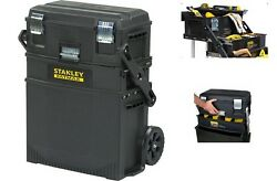 Mobile Work Station Tools Parts Box Storage Portable Rolling Cabinet Chest Home