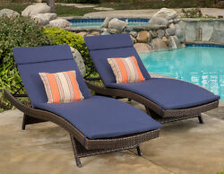 Lawn Chair Cushions For Outdoor Furniture Patio Lounge Chair Pool Waterproof Pad