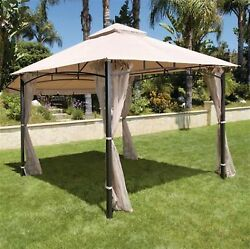 Santa Maria 13 ft. x 10 ft. Roof Style Durable Canopy Outdoor Shed Decor Garden