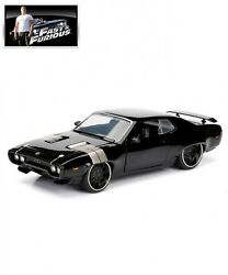 New JADA 124 Dom's Plymouth GTX The Fate of the Furious Fast & Furious 8 Japan