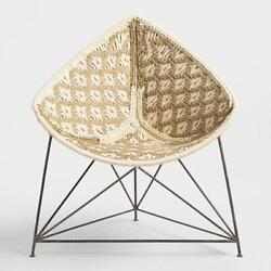 AMAZING NEW RATTAN INDOOR OUTDOOR MOROCCO CHAIR UNIQUE HOUSE HOME DESIGN SPACE