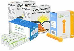Genultimate Blood Glucose Test Strips With One Touch Ultra Mini Meter New