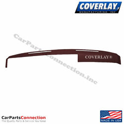 Coverlay Dash Board Cover Maroon 18 230 MR For Oldsmobile Cutlass Front Upper $174.67